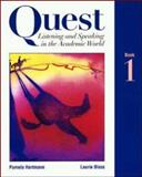 Quest : Listening and Speaking in the Academic World, Hartmann, Pamela and Blass, Laurie, 0070062498