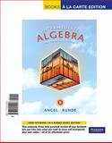 Intermediate Algebra for College Students, Books a la Carte Edition, Angel, Allen R. and Runde, Dennis, 0321692497