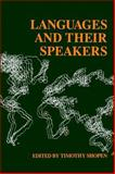 Languages and Their Speakers, Shopen, Timothy, 0812212509