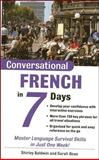 Conversational French in 7 Days, Shirley Baldwin and Sarah Boas, 0071432507