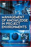 Management of Knowledge in Project Environments, , 0750662514