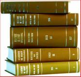 Recueil des Cours - Collected Courses, Hague Academy of International Law Staff and Académie de Droit International de la Ha Staff, 9041112510