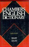 Chambers English Dictionary Thumb Indexed, Chambers Staff, 0550102515