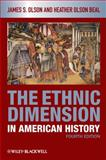 The Ethnic Dimension in American History, Olson, James S. and Beal, Heather Olson, 1405182512