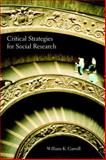 Critical Strategies for Social Research, , 1551302519