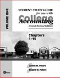 College Accounting, Peters, Judith M. and Peters, Robert, 0072302518