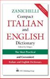 Zanichelli Compact Italian and English Dictionary, Edigeo, 0844222518