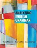 Analyzing English Grammar, Klammer, Thomas P. and Schulz, Muriel R., 0205252524