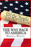 The Way Back to America, Howell Woltz, 1491042532