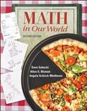 Math in Our World, Sobecki, Dave and Bluman, Allan G., 0072982535