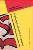 Probing Semantic Relations : Exploration and Identification in Specialized Texts, , 9027222533