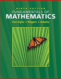 Fundamentals of Mathematics, Thomson, Neil and Rogers, James, 049501253X