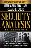 Security Analysis, Graham, Benjamin and Dodd, David, 0071592539