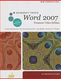 New Perspectives on Microsoft Office Word 2007, Introductory, Premium Video Edition (Book Only), Zimmerman, S. Scott and Zimmerman, Beverly B., 1111532532