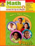 Math Games, Evan-Moor Educational Publishers, 1596732539