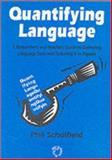 Quantifying Language 9781853592539
