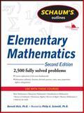 Elementary Mathematics, Rich, Barnett and Schmidt, Philip, 007176254X