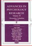 Advances in Psychology Research, , 1594542546