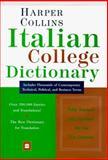 HarperCollins Italian College Dictionary, HarperCollins Publishers, 0062752545