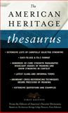 The American Heritage Thesaurus, Houghton Mifflin Company Staff, 0440242541