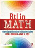 RtI in Math, Linda Forbringer and Wendy Fuchs, 1596672544