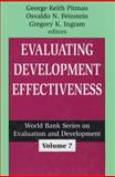 Evaluating Development Effectiveness, , 0765802546