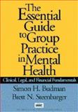 The Essential Guide to Group Practice in Mental Health : Clinical, Legal, and Financial Fundamentals, Budman, Simon H. and Steenbarger, Brett N., 1572302542