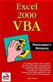 Excel 2000 VBA, Johnson, Brian, 1861002548