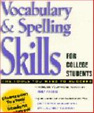 Vocabulary and Spelling Skills for College Students, Meyers, Judith, 0130802557