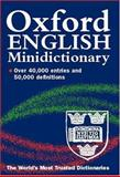 The Oxford English Minidictionary, , 0198602553