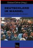 Deutschland Im Wandel : Sozialstrukturelle Analysen, , 3810022551