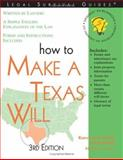 How to Make a Texas Will, Karen Ann Rolcik and Mark Warda, 1572482559