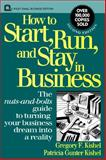 How to Start, Run, and Stay in Business 9780471592556