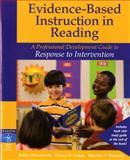 Evidence-Based Instruction in Reading : A Professional Development Guide to Response to Intervention, Rasinski, Timothy V. and Wisniewski, Robin, 0137022557