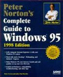 Peter Norton's Complete Guide to Windows 98 : 1998 Edition, Norton, Peter and Mueller, John Paul, 0672312557