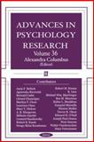 Advances in Psychology Research, , 1594542554