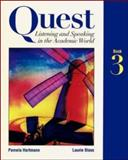 Quest: Listening and Speaking in the Academic World, Pamela Hartmann and Laurie Blass, 0070062552