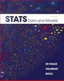 Stats : Data and Models, De Veaux, Richard D. and Velleman, Paul F., 0321692551