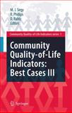 Community Quality-of-Life Indicators: Best Cases III : Best Cases III, , 9048122562