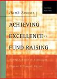 Hank Rosso's Achieving Excellence in Fund Raising, Rosso, Hank, 0787962562