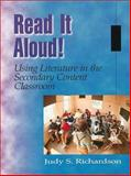 Read It Aloud! Using Literature in the Secondary Content Classroom, Richardson, Judy S., 0872072568