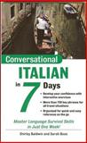 Conversational Italian in 7 Days, Baldwin, Shirley and Boas, Sarah, 0071432566