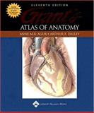 Grant's Atlas of Anatomy, Agur, Anne M. and Dalley, Arthur F., 0781742560
