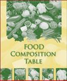 Food Composition Table, Higher Education McGraw-Hill, 0073402567