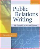 Public Relations Writing 9780072882568