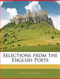 Selections from the English Poets, Edward Arber, 1145802567