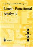 Linear Functional Analysis, Rynne, Bryan P. and Youngson, Martin A., 1852332573