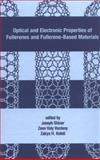 Optical and Electronic Properties of Fullerenes and Fullerene-Based Materials, Shinar, J and Vardeny, Z. V., 0824782577