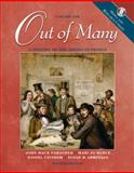 Out of Many Vol. 1 : A History of the American People, Media and Research Update, Faragher, John M. and Armitage, Susan H., 0131502573