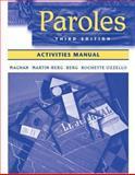 Paroles, Magnan, Sally Sieloff and Berg, William J., 0471482579